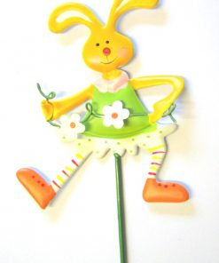 Girl Bunny Pot Stick