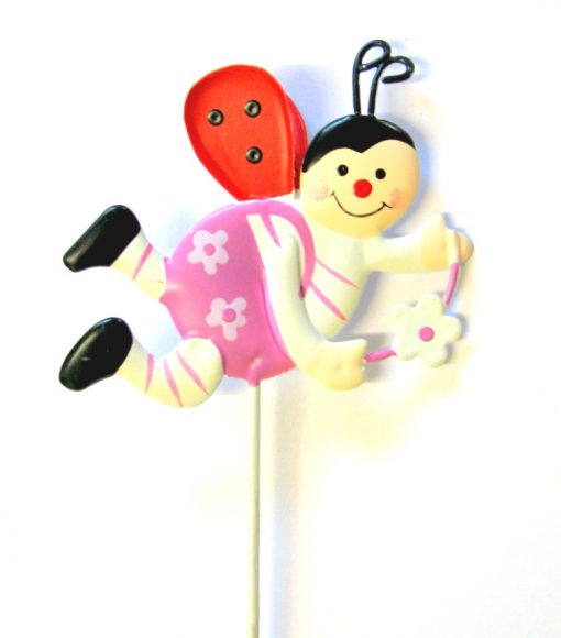 Flying Ladybug Pot Stick