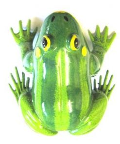 Colours of Australia Garden Stick - Green Frog