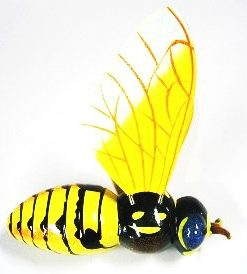 Colours of Australia Garden Stick - Bee