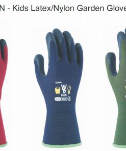 With Garden Kids Gardening Gloves Size 5, Ages 3-5