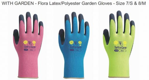 With Garden Kids Gardening Gloves Size 8, Ages 9+