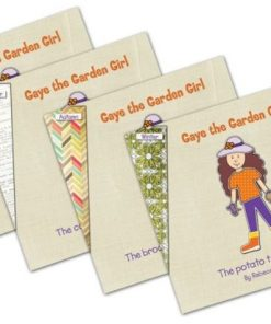 Gaye the Garden Girl Book Set by Rebecca Mumford