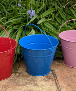 Colourful Kids Gardening Buckets